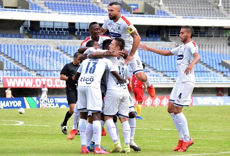 DIM, Deportivo Independiente Medellín, Junior FC, Copa Colombia 2020, cuartos de final
