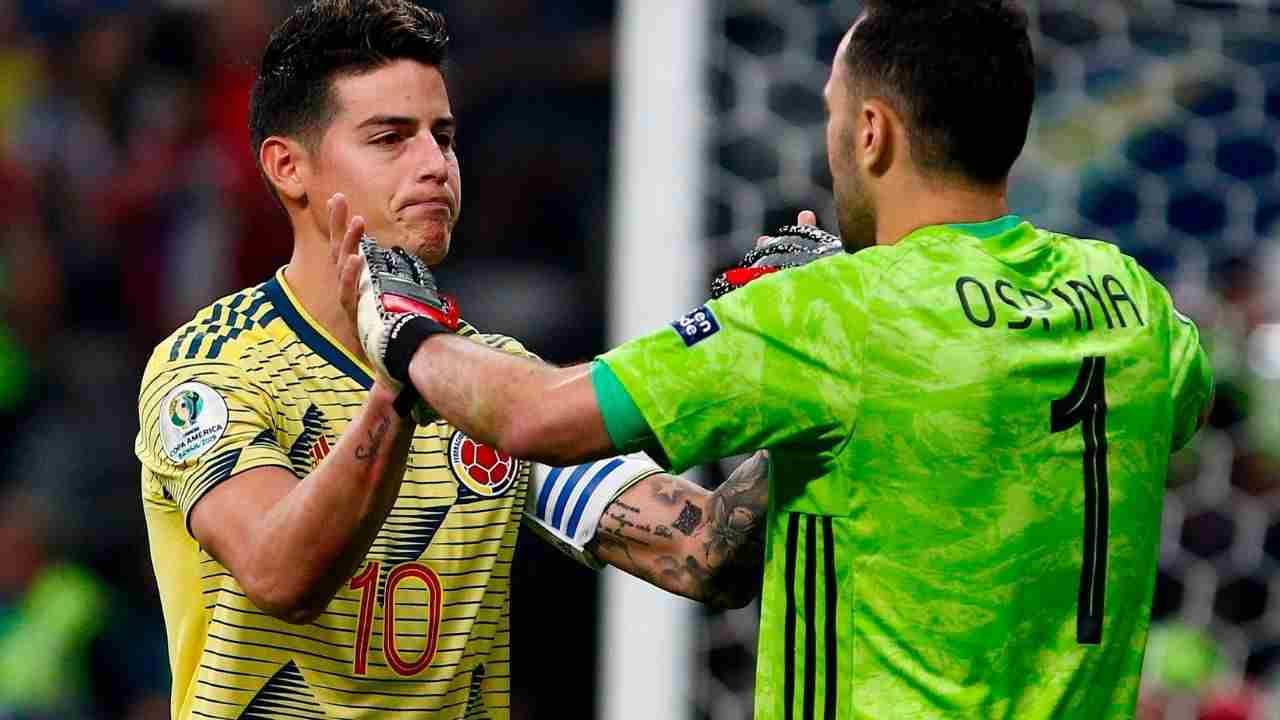 David Ospina sería baja de Colombia ante Uruguay