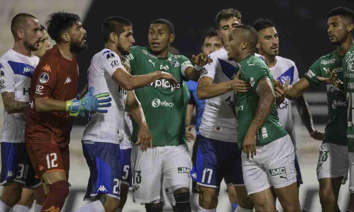 Deportivo Cali no pudo sostener el empate en Argentina
