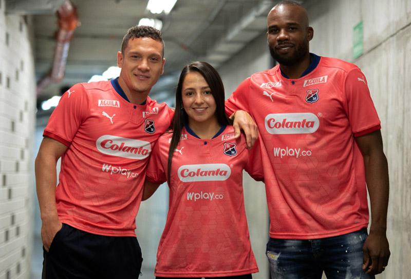 Deportivo Independiente Medellín, DIM, nuevo uniforme, camiseta coral, Liga BetPlay 2020 (1)