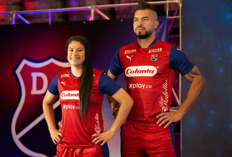 Deportivo Independiente Medellín, DIM, nuevo uniforme, camiseta roja, Liga BetPlay 2020