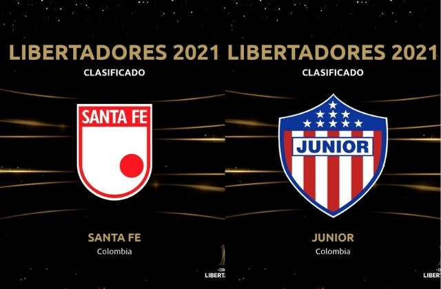 Independiente Santa Fe y Junior de Barranquilla clasificaron a la semifinal de la Liga BetPlay y aseguraron un cupo a Copa Libertadores.