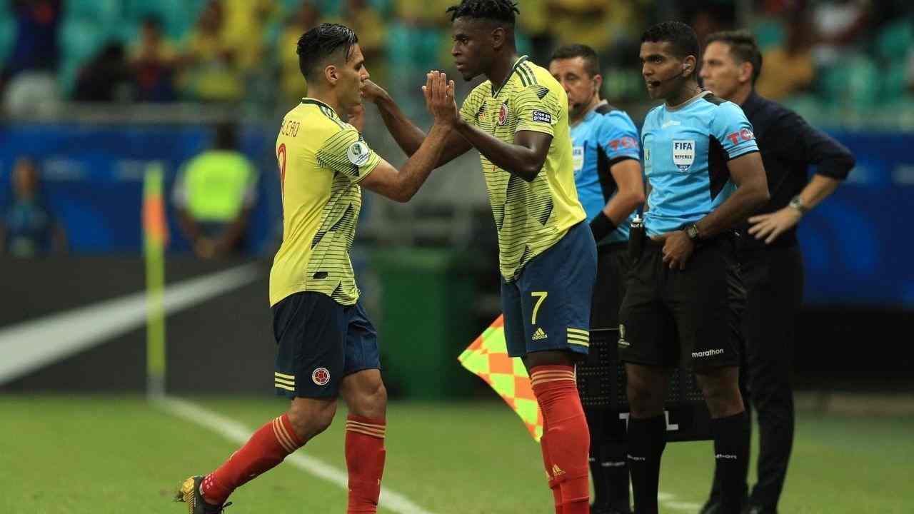 Duván Zapata habló sobre la ausencia de Falcao con Colombia