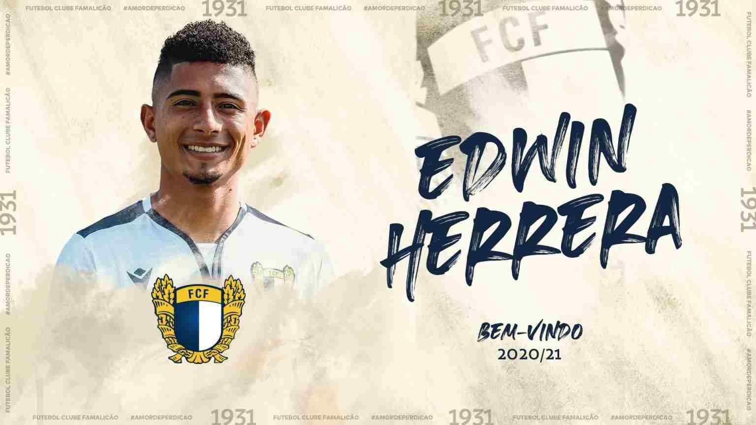 Edwin Herrera ¿Cómo le ha ido en Portugal?
