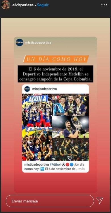 Elvis Perlaza, DIM, Deportivo Independiente Medellín, Copa Colombia 2019