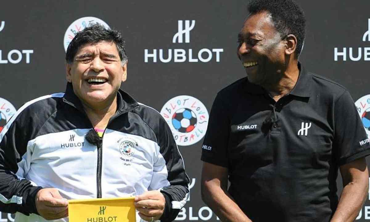 Espero que podamos jugar juntos en el cielo Pelé