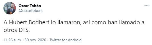 Huberth Bodhert, DIM, Deportivo Independiente Medellín, Once Caldas, Liguilla BetPlay 2020, Óscar Tobón