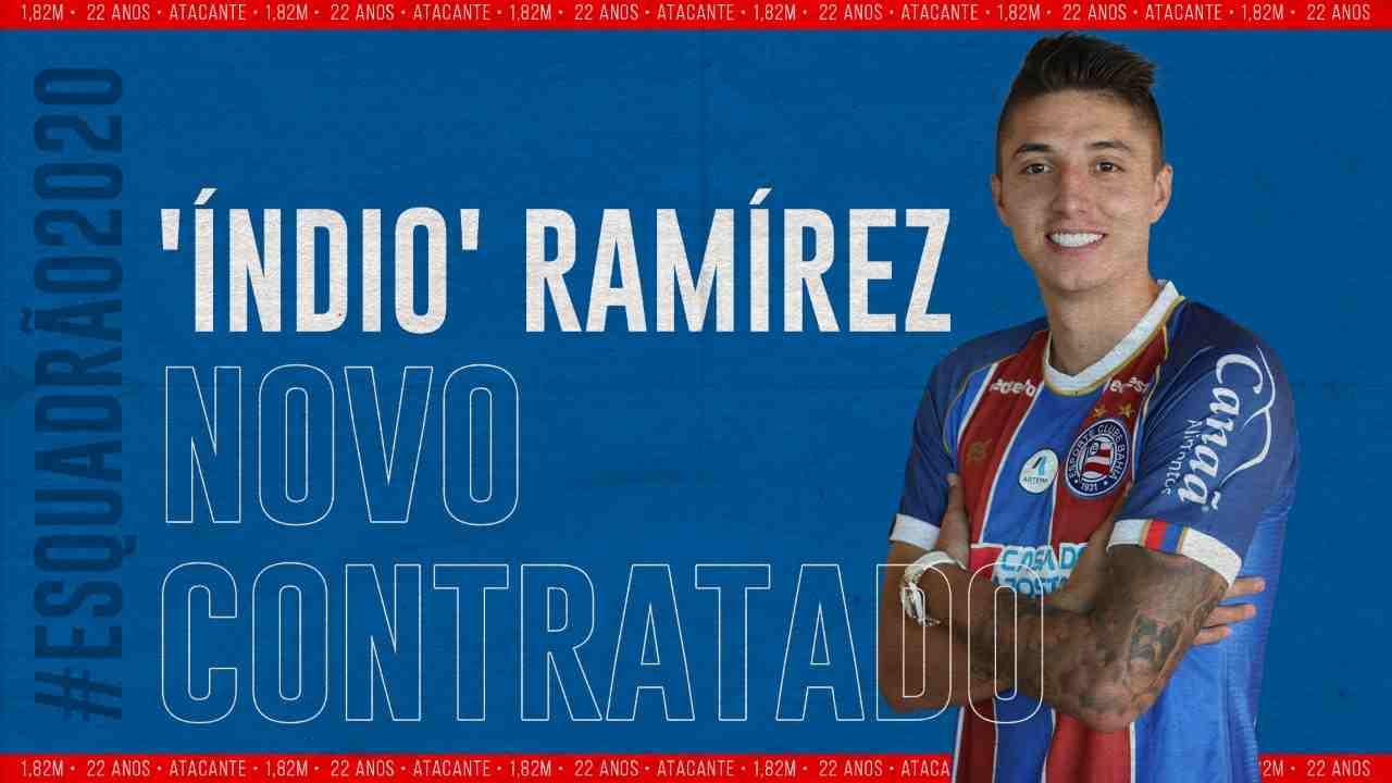 Juan Pablo el 'Índio' Ramírez fue presentado en su nuevo equipo