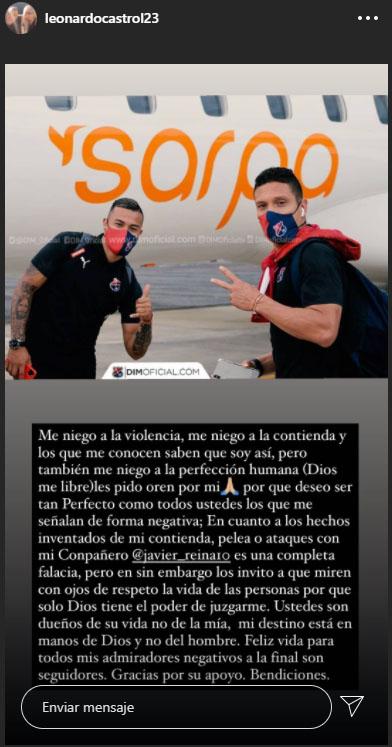 Leonardo Castro, historia, Javier Reina, Deportivo Independiente Medellín, DIM, Liguilla BetPlay 2020