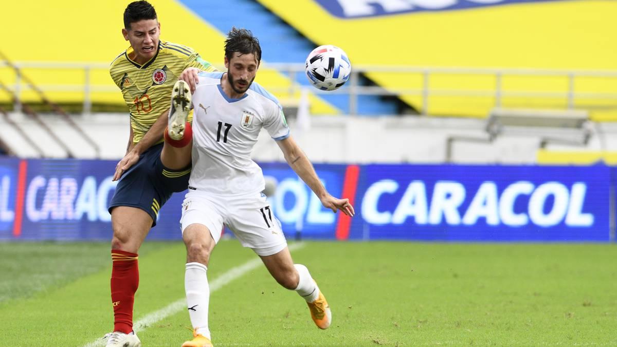 Jugador uruguayo da positivo para Covid-19 tras enfrentar a Colombia