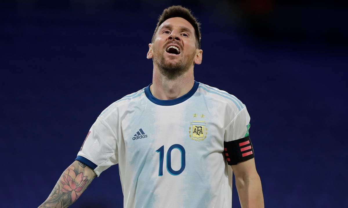 Messi y su mala racha que se prolongó en la Selección