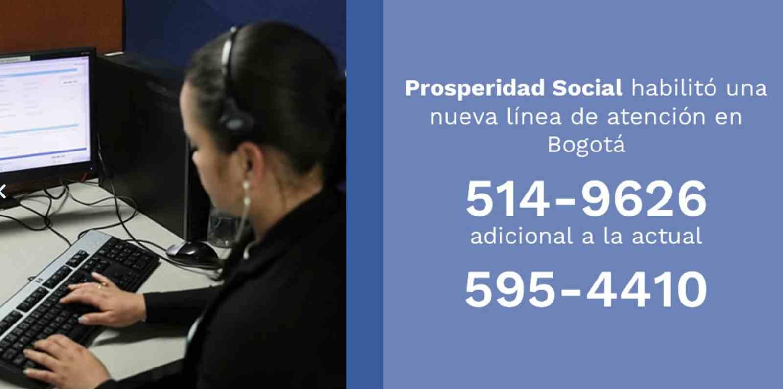 Nueva línea de atención del DPS para el Ingreso Solidario
