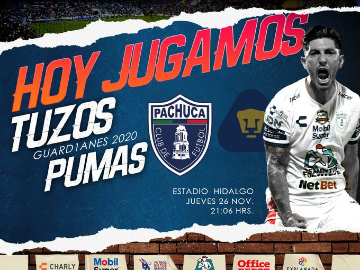 piso Asesinar Marcha atrás  Dónde ver en vivo Pachuca vs Pumas por los cuartos de final de la Liga MX?