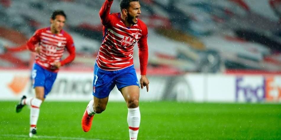 Primer gol del colombiano Luis Suarez en La Liga