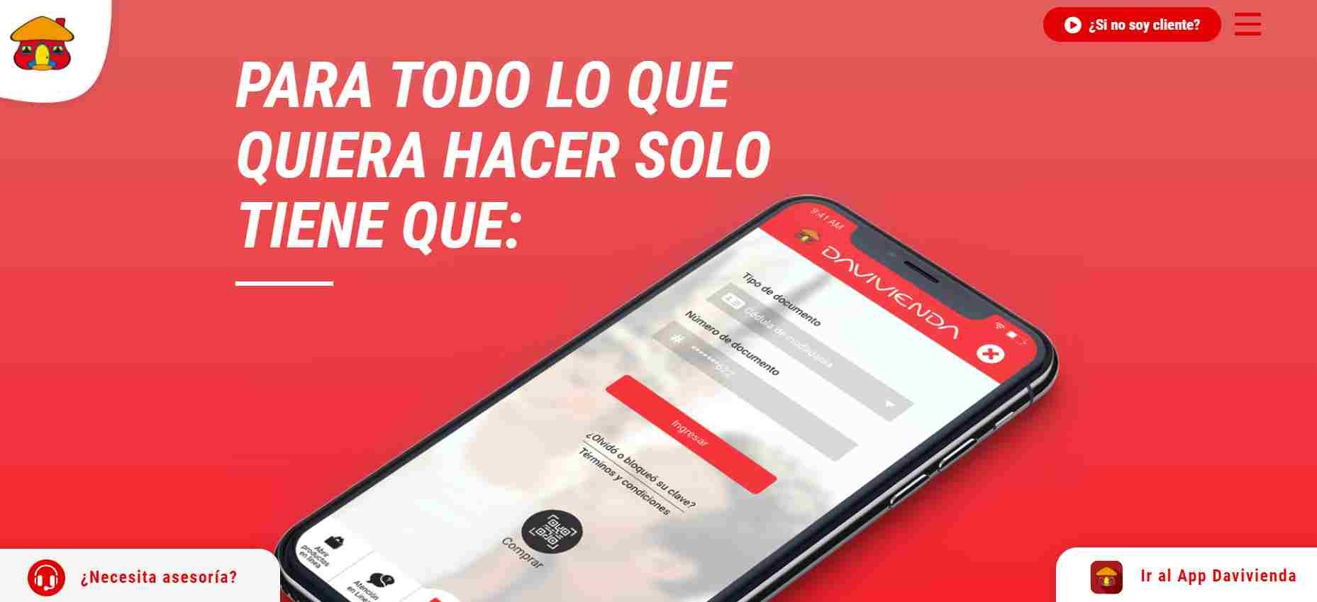 Revisar saldo del Ingreso Solidario en Davivienda móvil