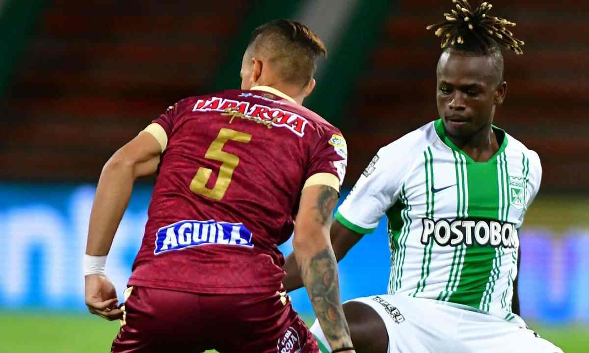 Tolima vs. Nacional primera llave de cuartos en Copa Betplay