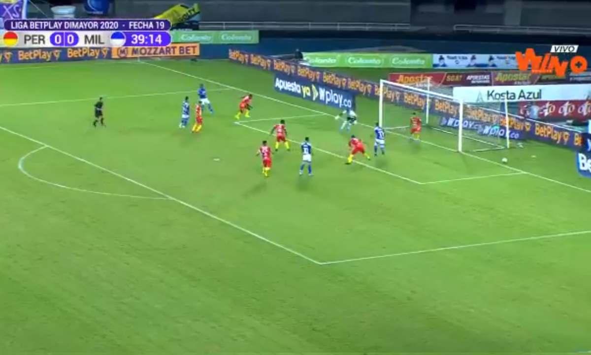 Una locura ¡El gol que se perdió Ayron del Valle!