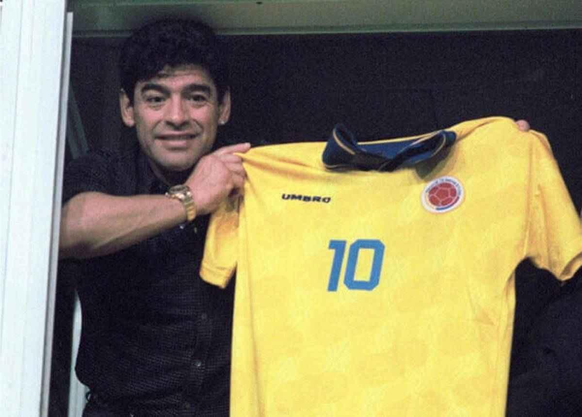 Visitas de Diego Maradona a Colombia: Guillermo Ruiz