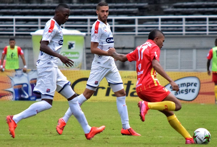 Yesid Díaz, Jaime Giraldo, DIM, Deportivo Independiente Medellín, Deportivo Pereira, liguilla Liga BetPlay 2020