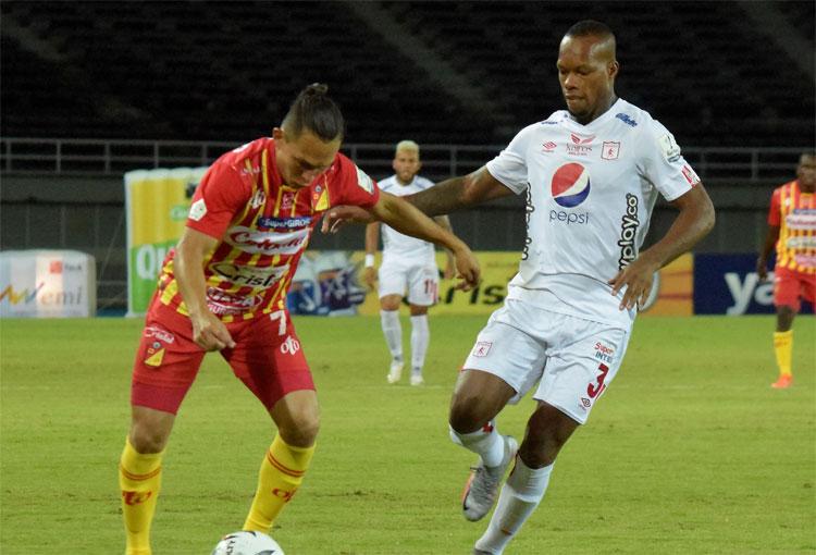Deportivo Pereira 0-1 América de Cali (parcial), Liga Betplay