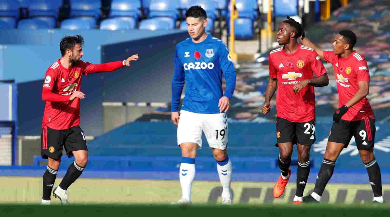 James Rodríguez hoy: ¿Qué le pasó vs. Manchester United?