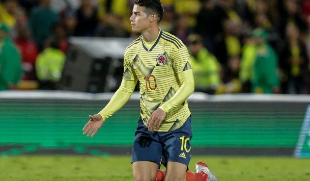"""James Rodríguez: """"La única derrota es rendirse"""""""