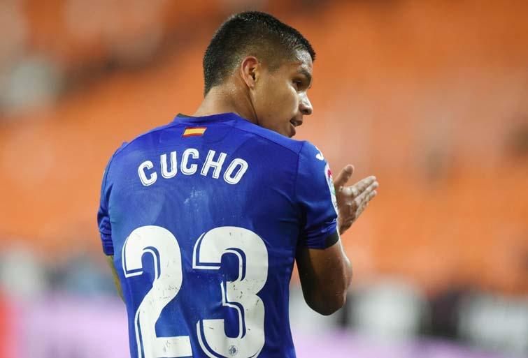 Primer gol para el Cucho Hernández con Getafe
