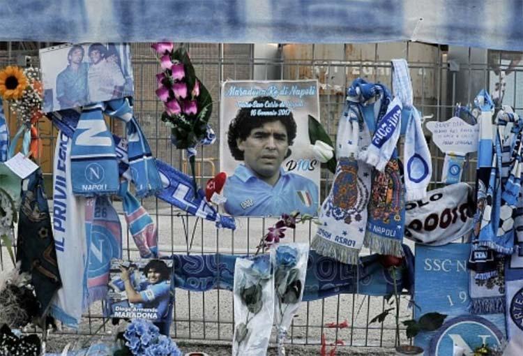 Lo que encontraron en la habitación donde murió Maradona