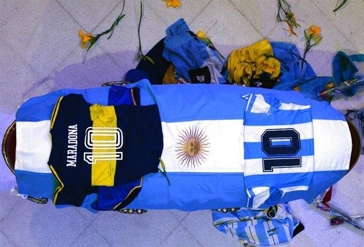 Forenses entregaron informe preliminar sobre la muerte de Diego Maradona