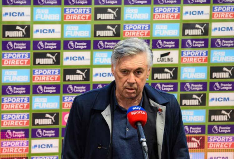 Lo que dijo Ancelotti de la primera derrota de Everton sin James Rodríguez