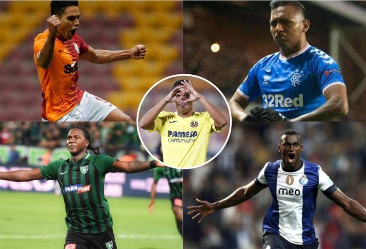 ¡Los 10 colombianos con más goles en el fútbol europeo!