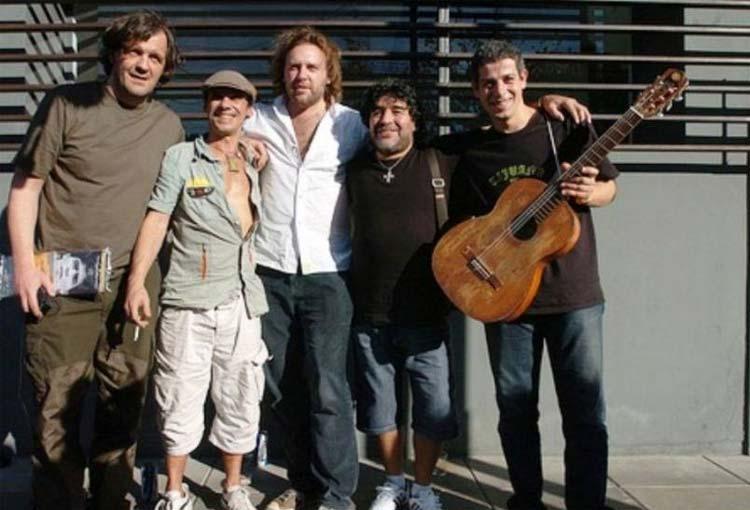 Los homenajes musicales para Diego Maradona