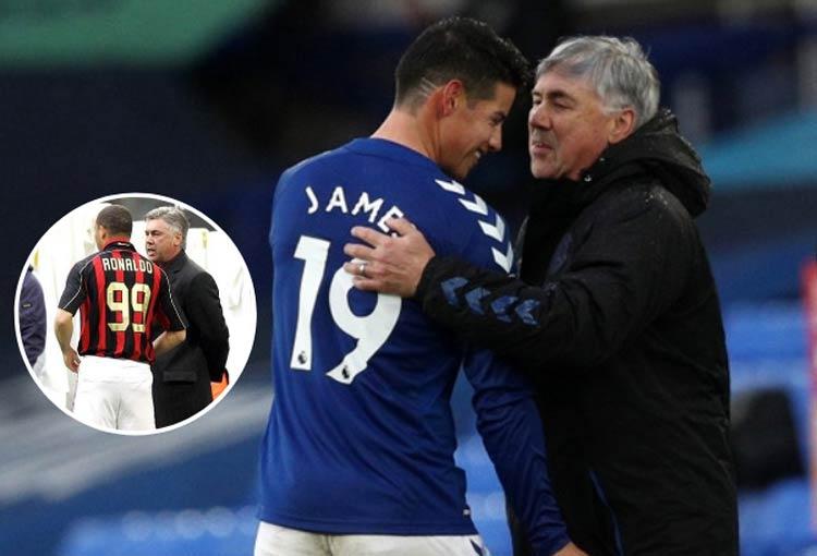 James Rodríguez, Ancelotti y el ejemplo de Ronaldo en AC Milan