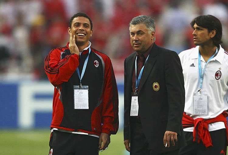 James Rodríguez y cómo terminó la historia de Ronaldo con Ancelotti en AC Milan