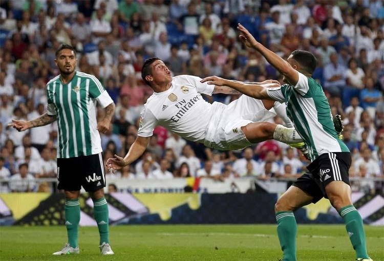 """LaLiga: """"James Rodríguez, uno de esos jugadores que a todo el mundo ama ver"""""""