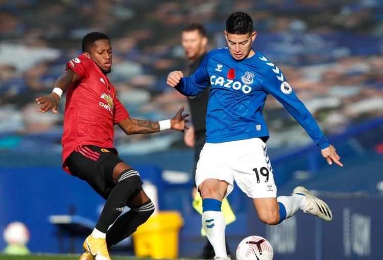 ¿Qué dijo la prensa inglesa de James Rodríguez tras derrota del Everton?