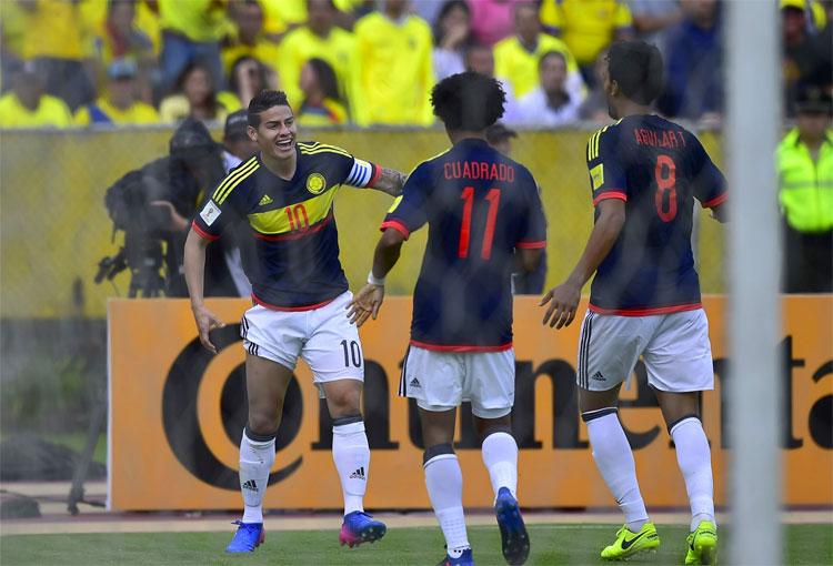 James Rodríguez y su historia con la Selección Colombia ante Ecuador