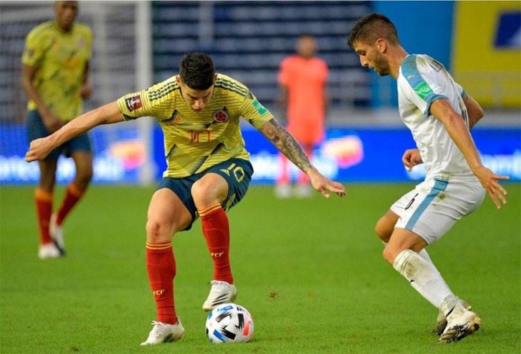 """James Rodríguez y la derrota de la Selección Colombia: """"Hay que asumir responsabilidades"""""""