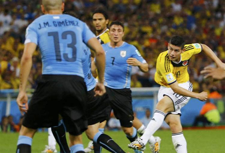 James Rodríguez y su historia con la Selección Colombia ante Uruguay