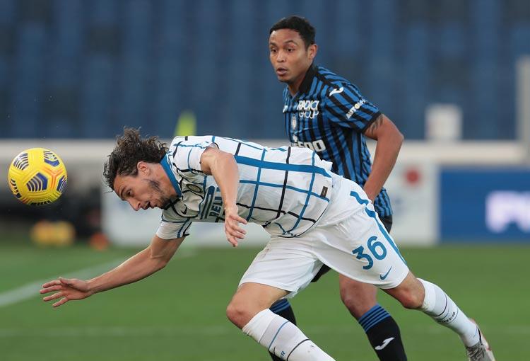 Luis Fernando Muriel aportó en el empate del Atalanta vs. Inter