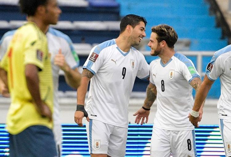 Luis Suárez y más contagios de COVID-19 en Uruguay tras partido ante la Selección Colombia