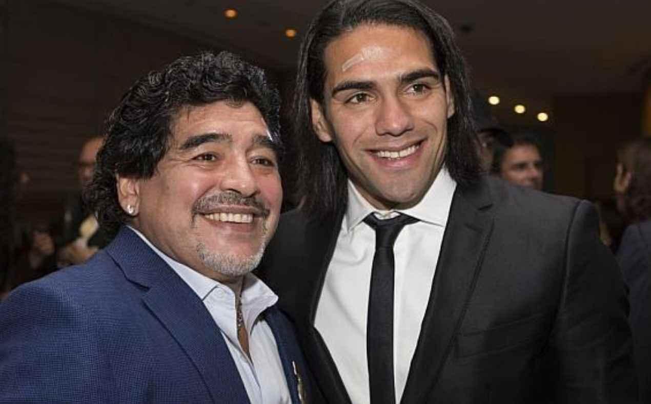 """Falcao y la muerte de Diego Maradona: """"Marcaste mi vida con tu cercanía y tu cariño"""""""