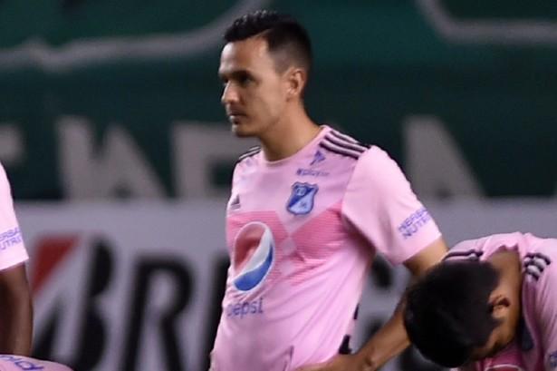 Cesar Augusto arremetió contra Montoya tras el penalti errado con Millonarios