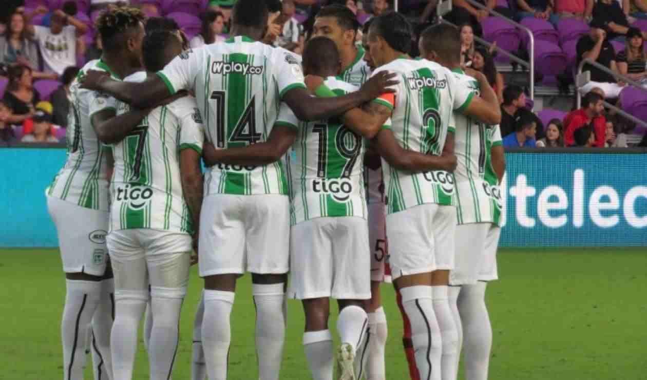 Nómina titular de Atlético Nacional vs. Rionegro Águilas
