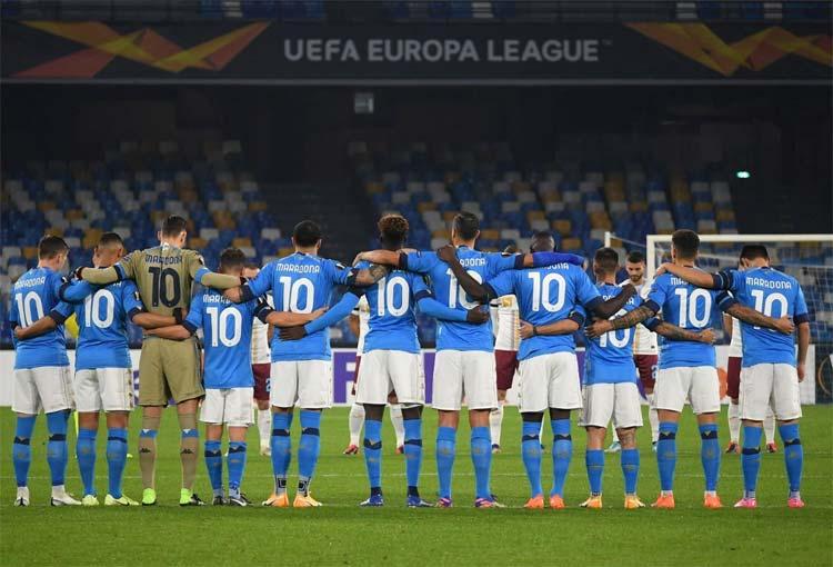 El homenaje de David Ospina y el Napoli para Maradona