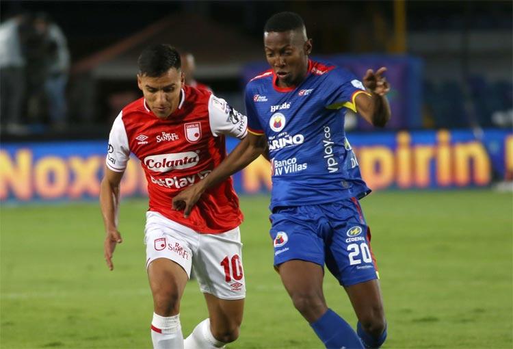 Goles, resumen y resultado: Santa Fe Deportivo Pasto, Liga Betplay