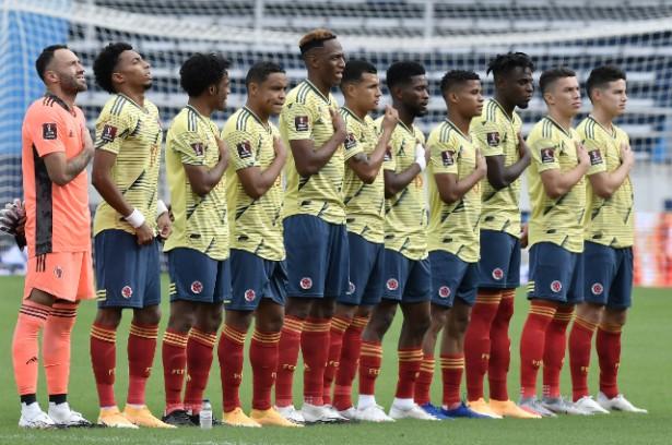 Selección Colombia y los últimos resultados de COVID-19