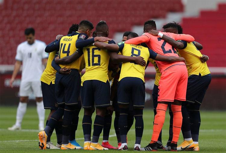 Más contagios y nuevos convocados en Ecuador para enfrentar a la Selección Colombia