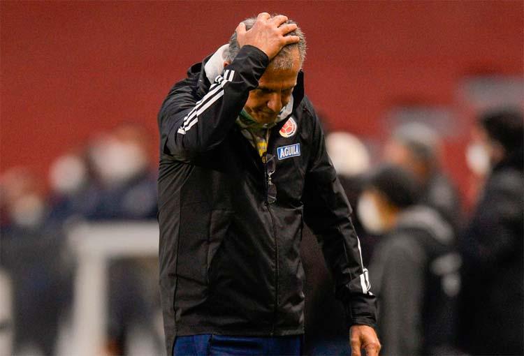 Carlos Queiroz y su nuevo antirrécord con la Selección Colombia