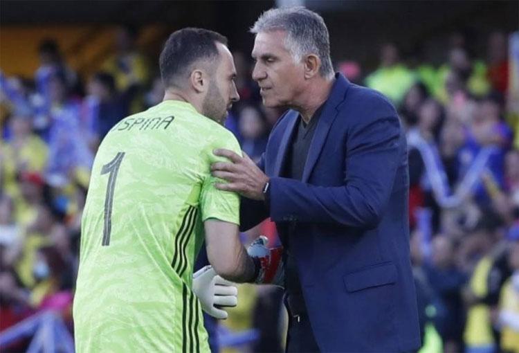 ¿Hubo problemas entre Carlos Queiroz y David Ospina?